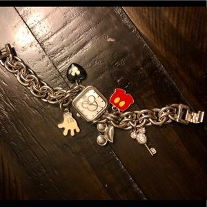 Disney Accessories - Mickey Mouse Charm Bracelet Watch🎀